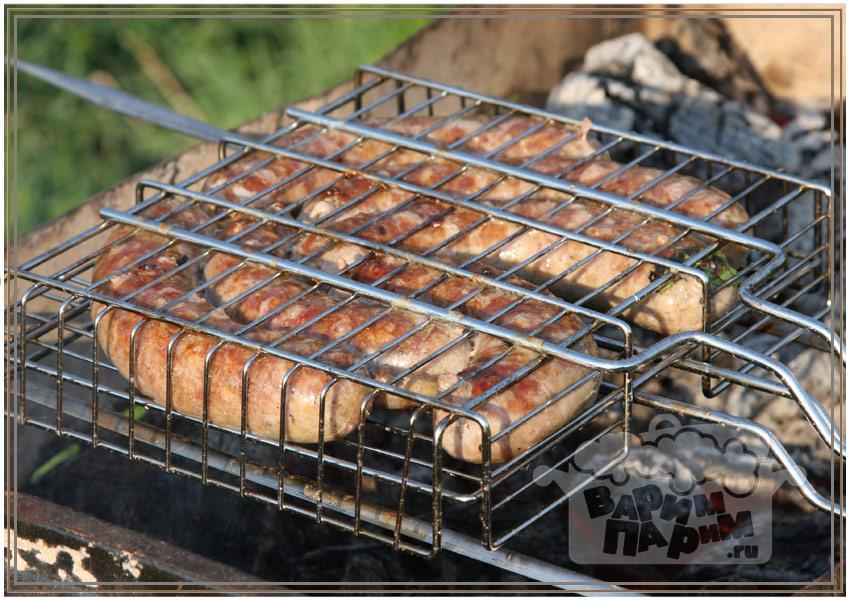 Колбаски для жарки на мангале