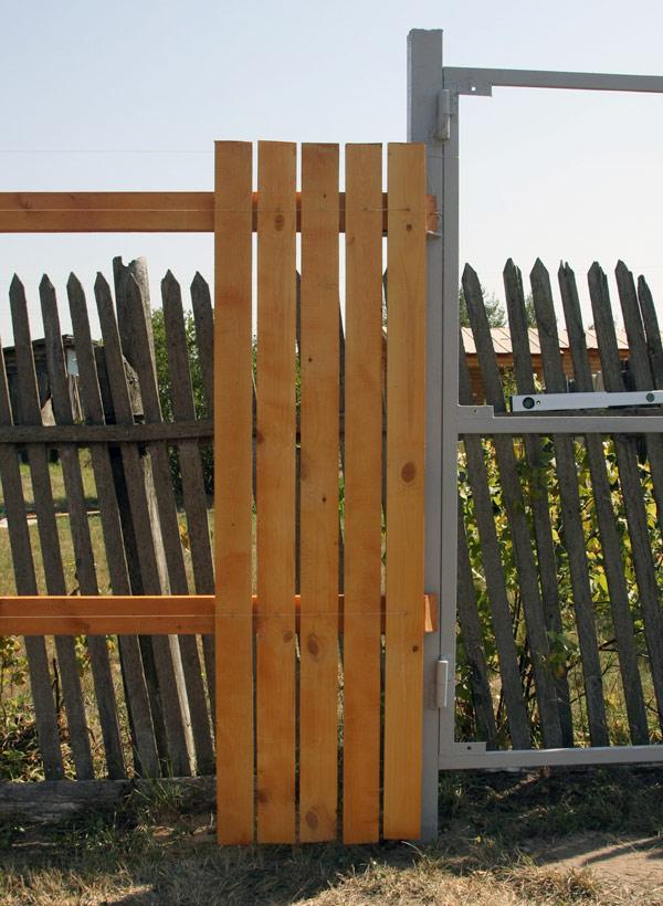 Забор из дюймовки своими руками 61